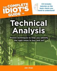 The Complete Idiot's Guide to Technical Analysis, Book & CD