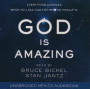 God Is Amazing Audio: Everything Changes When You See God for Who He Really Is - audiobook on MP3