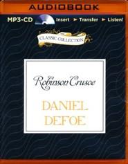 Robinson Crusoe - unabridged audiobook on MP3-CD