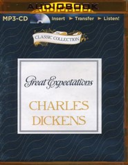 Great Expectations - unabridged audiobook on MP3-CD