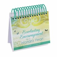 Everlasting Encouragement for a Woman's Heart Perpetual Calendar: 365 Inspirational Thoughts