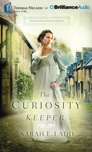 The Curiosity Keeper, Treasures of Surrey #1 - unabridged audio book on CD