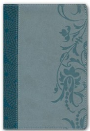 HCSB Study Bible for Women, Personal Size Edition Soft Leather-look, Teal/sage