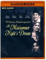 Midsummer Night's Dream- unabridged audio book on MP3-CD