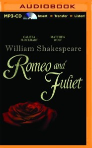 Romeo and Juliet- unabridged audio book on MP3-CD