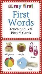 My 1st Touch & Feel Picture Cards: 1st WoReaders