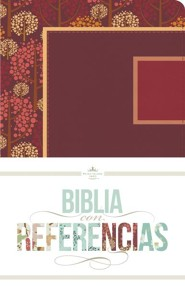 RVR 1960 Biblia Colección Cuatro Estaciones, otoñal con frambuesa y granada símil piel, RVR 1960 Fours Seasons Collection Bible, Raspberry and Granada Fall LeatherTouch