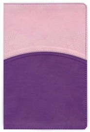 The Study Bible for Women, Lavender and Blush LeatherTouch