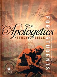 HCSB Apologetics Study Bible for Students--hardcover, indexed