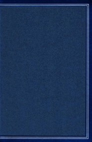 NKJV Ultrathin Reference Bible--soft leather-look, cobalt blue (indexed)