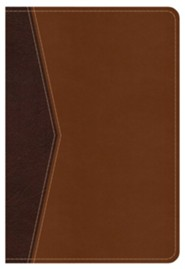 NKJV Compact Ultrathin Bible for Teens, Walnut LeatherTouch