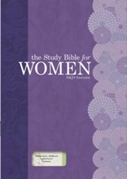 NKJV Study Bible for Women, Personal Size Edition, Willow Green and Wildflower LeatherTouch, Thumb-Indexed