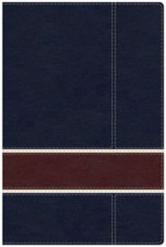 Military Families Bible Navy & Crimson