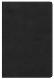 NKJV Ultrathin Reference Bible, Black LeatherTouch
