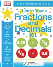 Learn Your Fractions And Decimals Kit  -