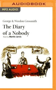 The Diary of a Nobody - unabridged audio book on MP3-CD