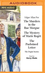 The Murders in the Rue Morgue - unabridged audio book on MP3-CD