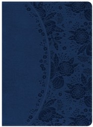 Holman Study Bible: NKJV Edition, Indigo LeatherTouch, Thumb-Indexed