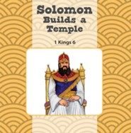 Solomon Builds the Temple/King Josiah Finds the Bible Flip Book