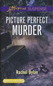 Picture Perfect Murder, Large Print