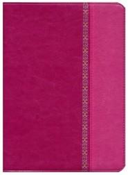 Imitation Leather Pink Thumb Index