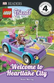 DK Reader Level 4: LEGO Friends Hanging Out In Heartlake City