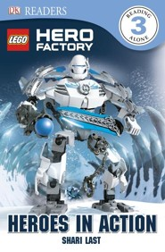 DK Reader Level 3: LEGO Hero Factory Rookie Hero