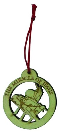 Miracle of Jesus Ornament, Pack of 10