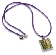 Lavender Springs Encouragement Pendant