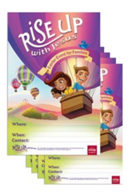 Rise Up With Jesus Publicity Posters, Package of 5
