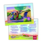Rise Up With Jesus Puzzle, Pack of 25