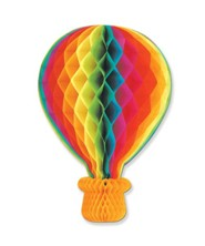 Rise Up With Jesus Hot Air Balloon Hanging Decoration