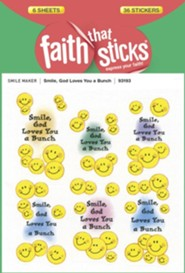 Stickers: Smile, God Loves You