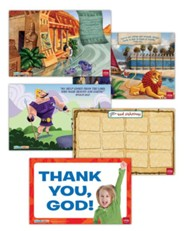 Hands-On Worship Poster Pack, Fall, Set of 5