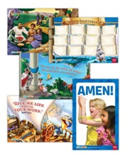 Hands-On Worship Poster Pack, Spring, Set of 5