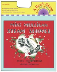 Mike Mulligan and His Steam Shovel -with audio CD   -     By: Virginia Lee Burton