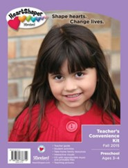 Heartshaper: Preschool Teacher's Convenience Kit, Fall  2015