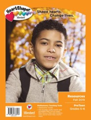Heartshaper: PreTeen Resources, Fall 2015