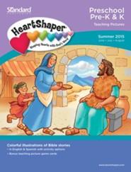 Preschool/Pre-K & K Teaching Pictures, Summer 2015