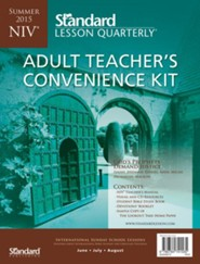 NIV &#174 Adult Teacher's Convenience Kit, Summer 2015