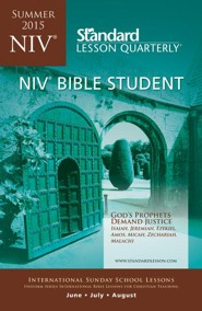 NIV ® Bible Studnet, Summer 2015