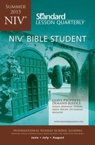 NIV &#174 Bible Studnet, Summer 2015