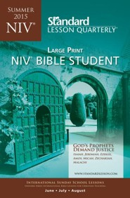 NIV &#174 Bible Student Large Print, Summer 2015