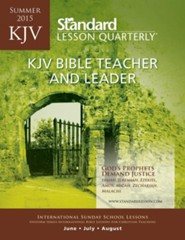 KJV Bible Teacher & Leader, Summer 2015