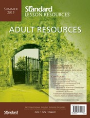 Adult Resources, Summer 2015