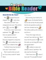 Weekly Bible Reader ®, Spring 2015 Pack of 5
