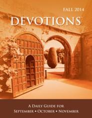 Devotions Pocket Edition, Fall 2014