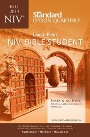NIV Bible Student Large Pring, Fall 2014
