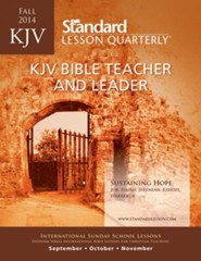 KJV Bible Teacher & Leader, Fall 2014