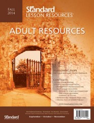 Adult Resources, Fall 2014